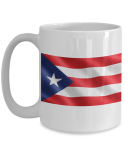 Puerto Rico 15 oz Coffee Mug