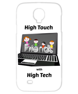 Galaxy S4 Case White High Touch