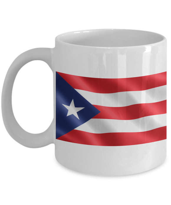 Puerto Rico Flag Coffee Mug