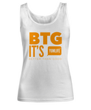 BTG Woman's Tank Top White