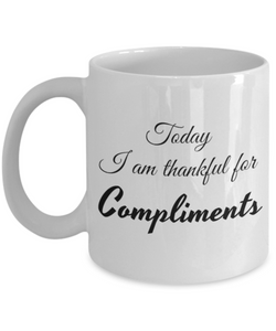 Thankful for Compliments