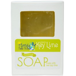 Key Lime Soap - Authentic and Hand Made - 4 oz Bar