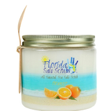 Florida Salt Scrubs, Orange Scent, Orange Essential Oil, Exfoliation, Sea Salt, Coconut Oil, Wedding Gift, Christmas Gift, Valentine Gift, Birthday Gift, Spa Approved, Natural Ingredients, Gifts for Mother, Gifts for Daughter, Aromatherapy, Appreciation Gift, Hostess Gift