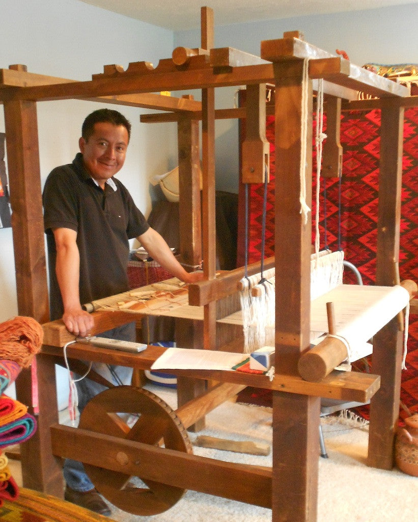 Zapotec Weavers Enrich Oregon: Francisco Bautista and Laura Gutierrez