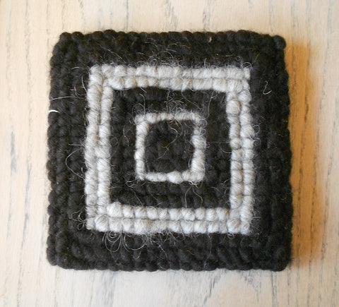 Small Hot Pad—Navajo-Churro Wool #4