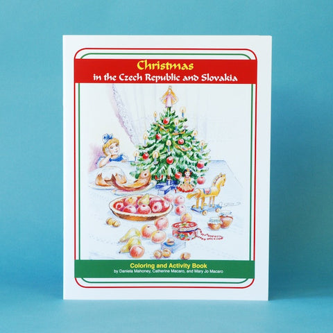Christmas in the Czech Republic and Slovakia — Coloring and Activity Book