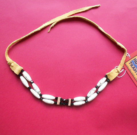 Native American Choker in Black & White