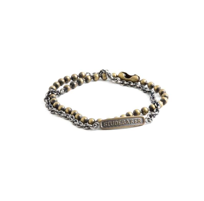 Mix chain Bracelet Sterling - BASKE California Footwear