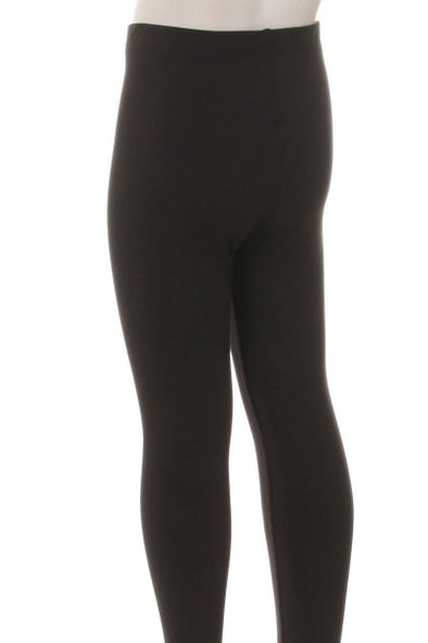 Kids black leggings