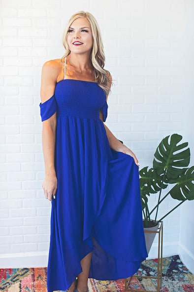 America Beautiful Royal Blue Dress