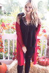 CHIFFON LACE BLACK TOP