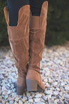 Miranda Fall Over Knee Camel Boot