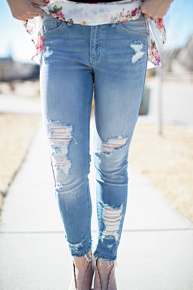 Ella Light Denim Jeans