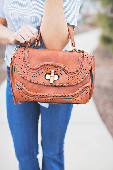 Brown Bohemian Handbag