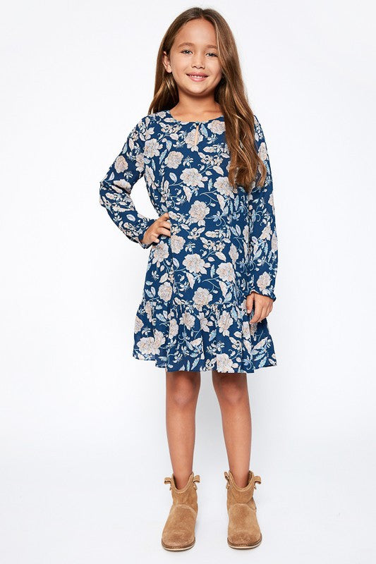 Floral Flounce Dress kids