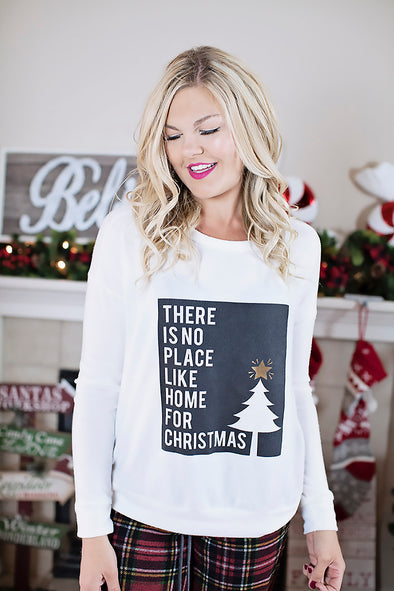 No place like home for christmas (white)