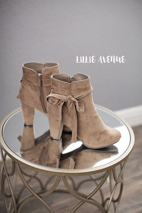 Chic Natural Beige Booties