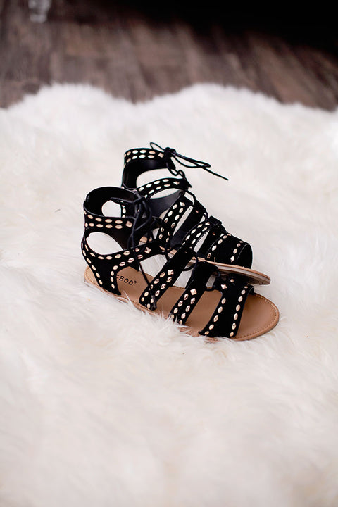 Becca Sandals in Black