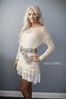 Ivory Lace Knitted Sweater