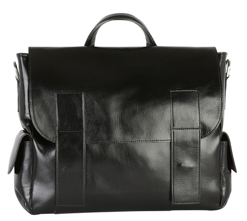 Luxurious Leather Messenger Bag