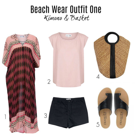 Beach Wear Fashion – Five Outfits to Hit The Beach With Style