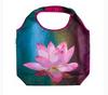 Foldable Tote Bag Lotus Design