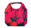 Foldable tote bag red lantern design