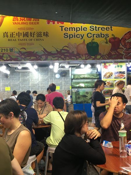Temple Street Night Market Spicy Crabs restaurant