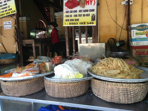 Noodle stall at Hoi An market