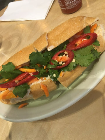 Banh Mi vit - duck roll at So9