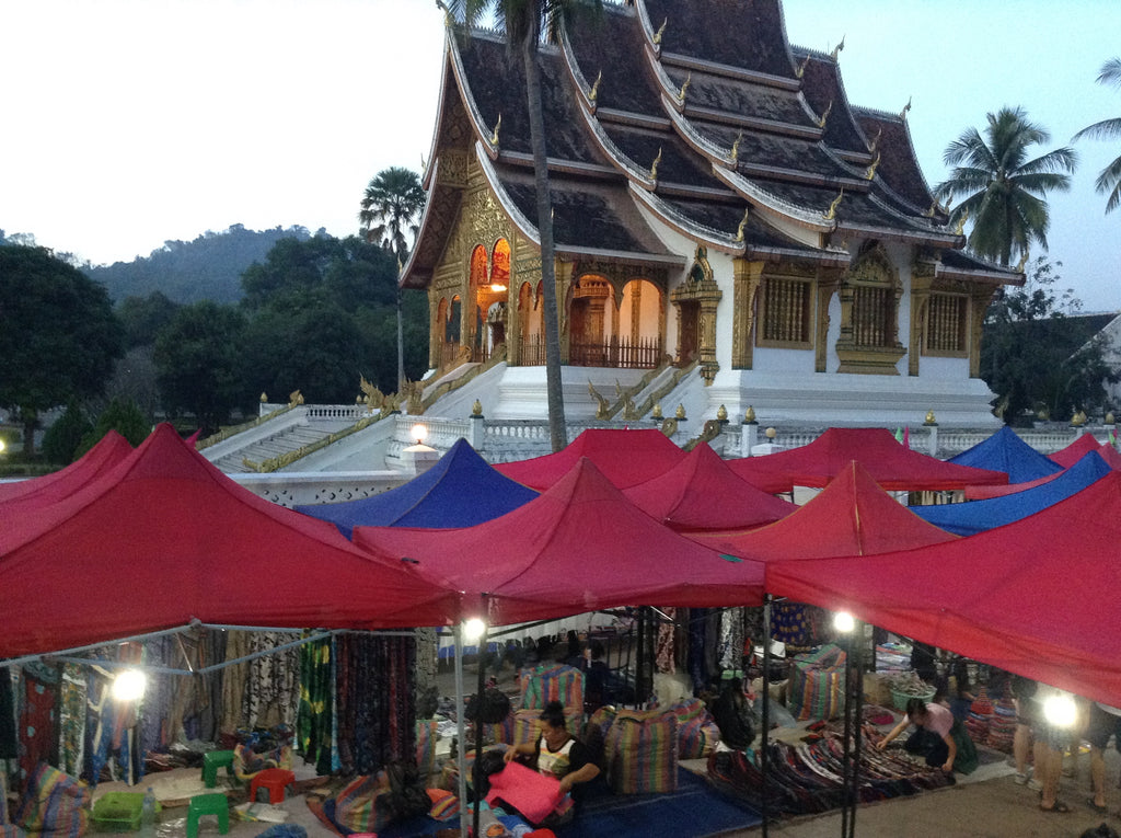 Temples and Markets Luang Prabang Laos