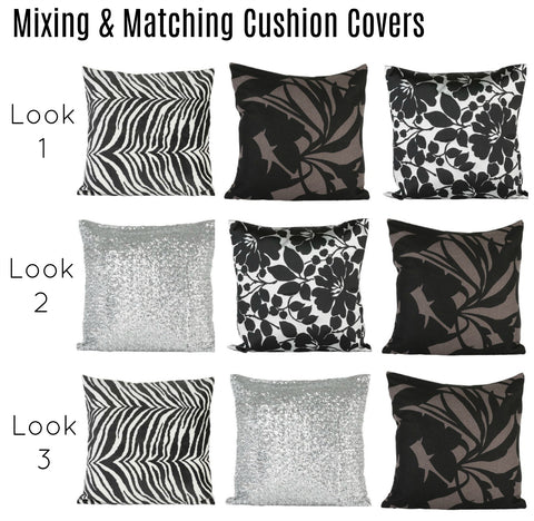 Cushion covers can change a living space instantaneously. Learn how to mix and match your cushions to create a cohesive space your family and guests will love to relax in.