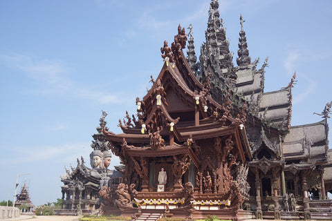 Prasat Sajja Tham - Sanctuary of Truth