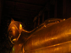 Reclining Buddha at Wat Po 1