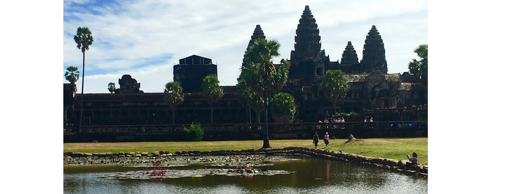 Angkor Wat and Lotus