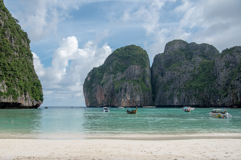 Maya Bay The Beach Phi Phi Islands Thailand