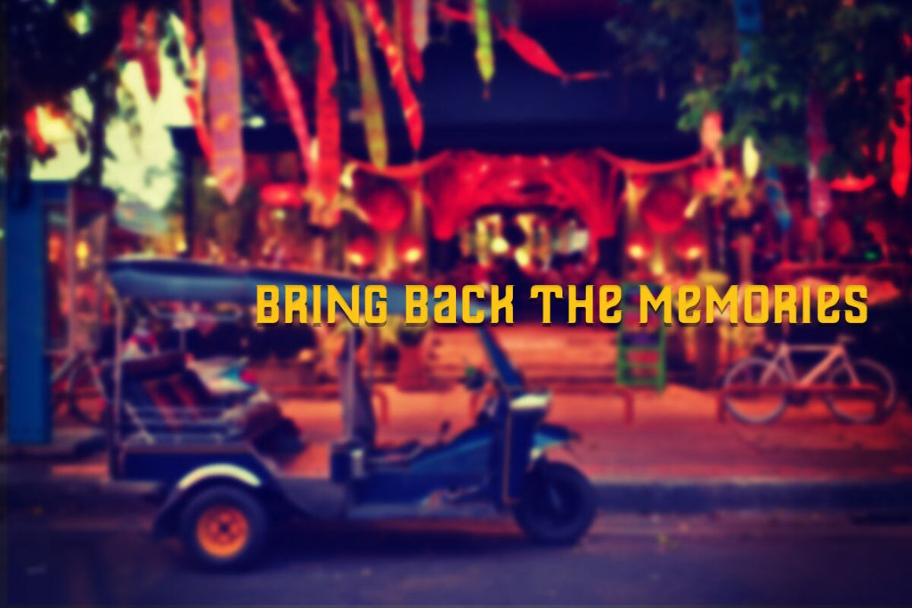 Bring back the memories. Travel in Bangkok by Tuk Tuk