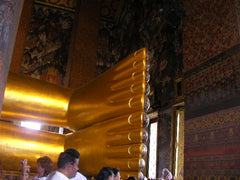 Reclining Buddha at Wat Po 2
