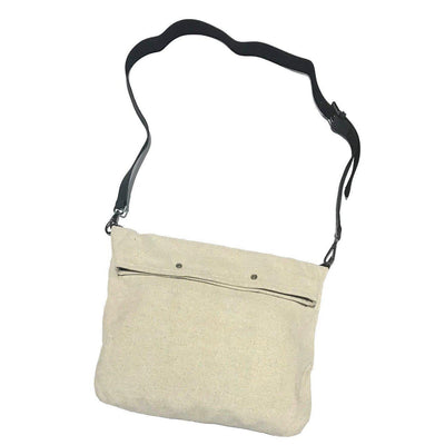 3-in-1 Mason Canvas and Leather Shoulder Bag-Lienstudio-Temples and Markets