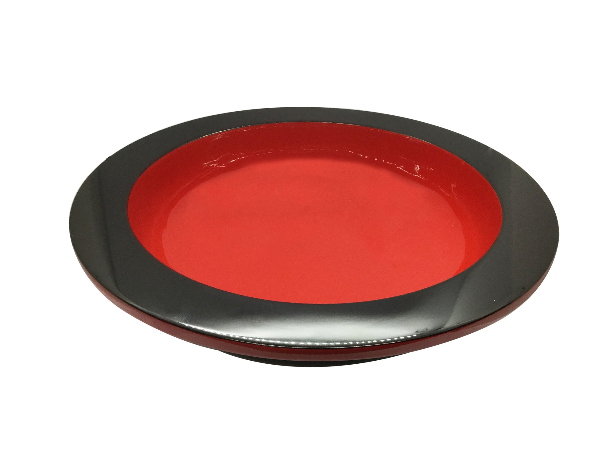 Renaissance Lacquered Bowl - Christmas Red and Black