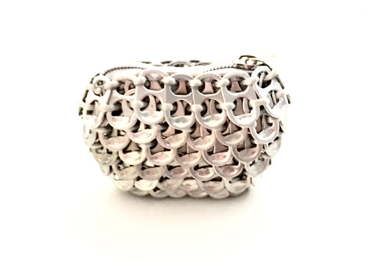 Solene M Coin Purse made from recycled Can Pull Tabs