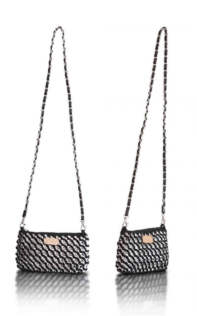 "Solene M ""Envelop"" Shoulder Bag / Clutch made from recycled Can Pull Tabs"