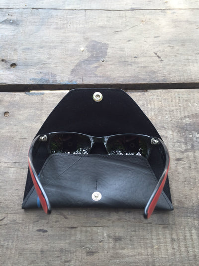 Black Tyre Sunglasses or Spectacles Case