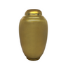 Gold Painted Lacquerware Ginger Jar