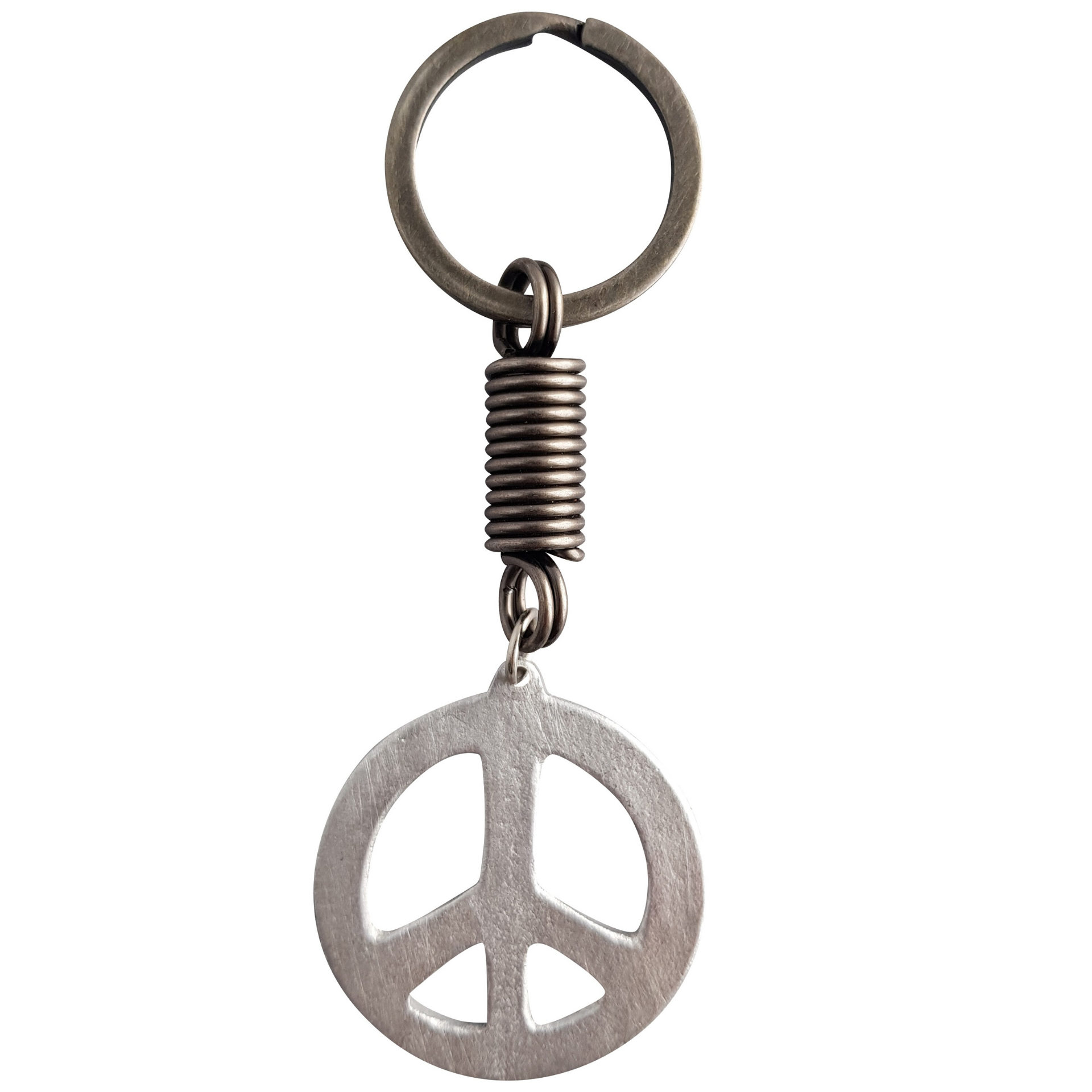 LOVEbomb Peace Sign Keyring