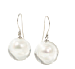 Zsiska Bubbling Pearls Drop Earrings