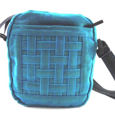 Smateria 'Epic' Turquoise Cross Body Bag