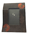 Wave Shaped Lacquerware Photo Frame - Summer Flowers design