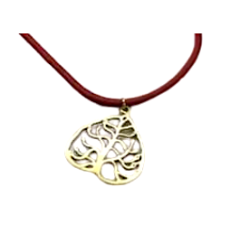 Brass Tree of Life Pendant