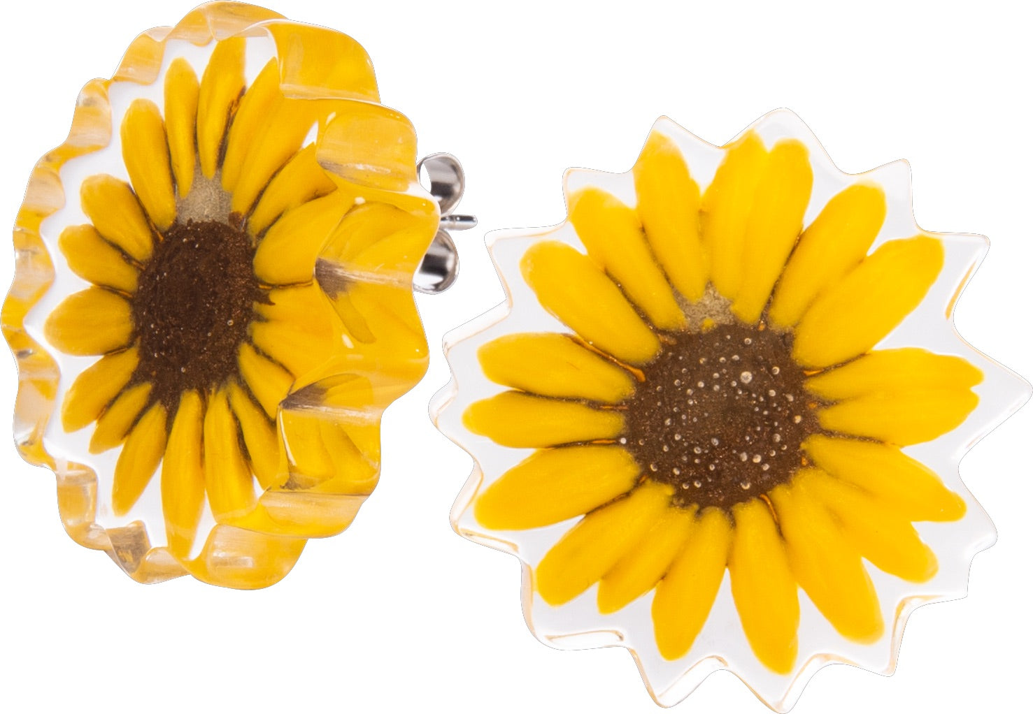 Zsiska Primavera Sunflower Earrings